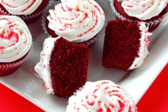 Red Velvet Cupcakes, Photo and Recipe By Kitchen Scoop