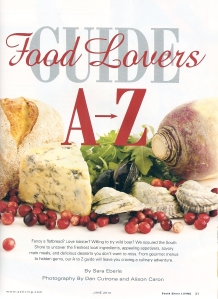 A-Z Food Lover's Guide