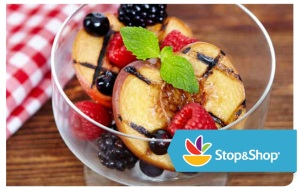 Stop & Shop Grilled Peaches